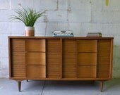 RESERVED for Aimee // Mid Century Modern  CREDENZA dresser by Johnson Carper
