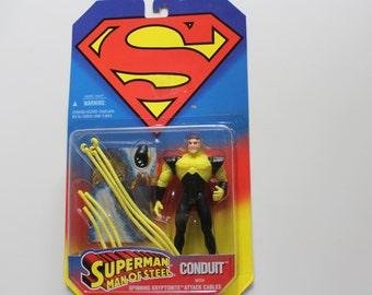 Vintage Superman Conduit Action Figure 1995 NIB