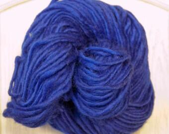 Yak Wool Yarn in Royal Blue