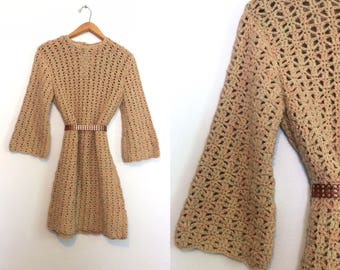 70s sweater dress   Etsy