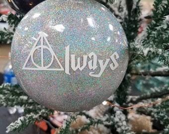 Always Harry Potter  inspired Ornament