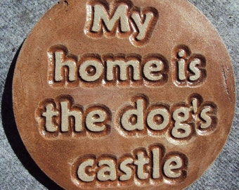 Dog Wall Hanging, Shipping Included