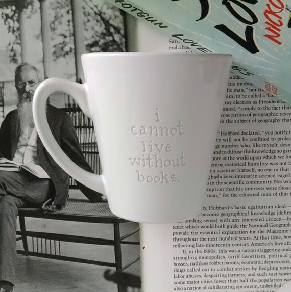 Reader Mug Book Lover Thomas Jefferson Quote By Penendeavors