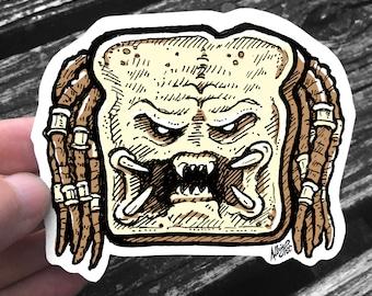 Breadator Sticker - The Predator Weatherproof Decal - FREE US Shipping