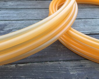 "5/8"" Translucent Orange Polypro Hoop"