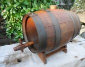 Old Whiskey Barrel with stand