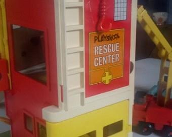 1973 Playskool Rescue Center Vintage Toy