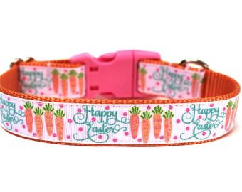 "Easter Dog Collar 1"" Spring Dog Collar"