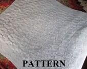 Knit Baby Blanket Pattern, Baby Blanket Pattern, Knitting Pattern Blanket, Knitting Pattern, Knit Purl, Aran Cable Knit, Irish Baby Blanket