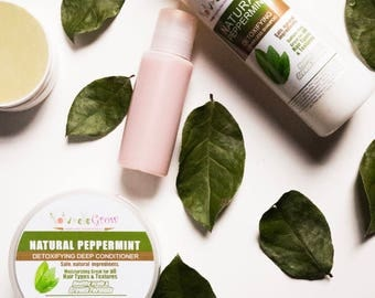 Peppermint Hair Conditioning Treatment for Hair Growth