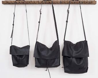 Bolsa - Messenger Bucket Crossbody Bag - Midnight