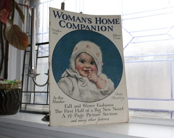 Antique Woman's Home Companion Magazine October 1916