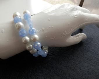 Elegant Stackable Sparkly Stretch Bracelets