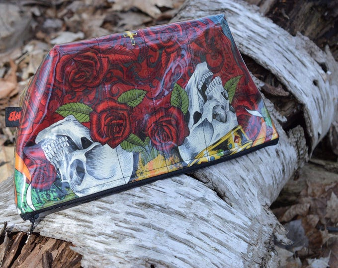 Handmade Carpe Noctem Large Makeup Bag