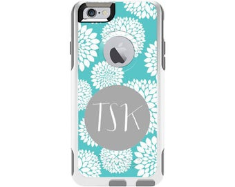 Blooms Personalized Custom Otterbox Commuter Case for iPhone 6 and iPhone 6s | Personalized Phone Case