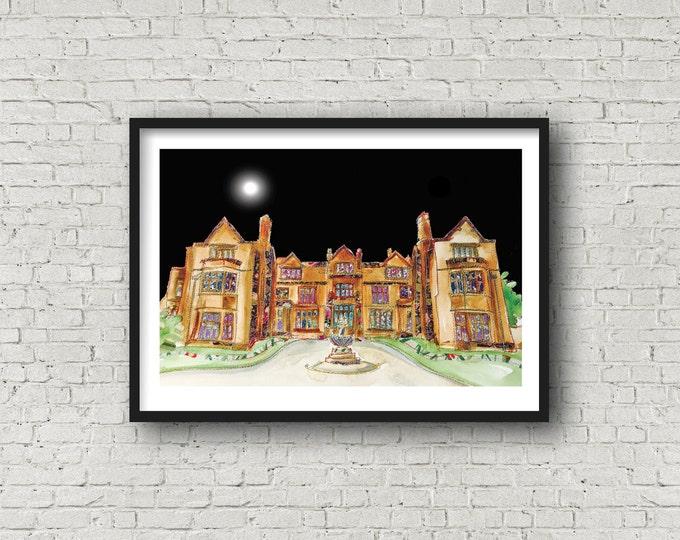 Thornton Manor Hotel - WIRRAL - Wirral Wedding Venue - Print