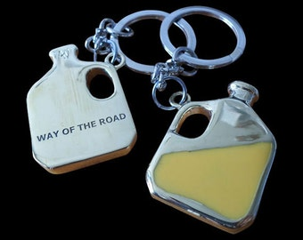 High Definition Enamel Piss Jug Keychain Way of the Road  – Trailer Park Boys - Free Shipping  old dehydrated alcoholic piss