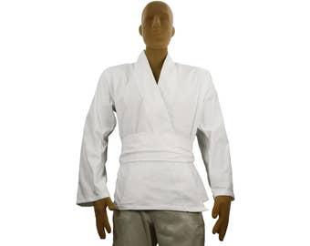 Jedi Costume Tunic Shirt Adult White