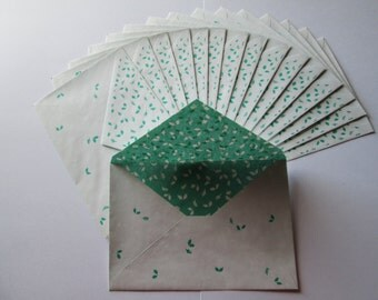 DESTASH - Holly Berries envelopes >> stationery, snail mail, pen pals, Christmas cards