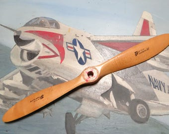 12 Inch Vintage Model Airplane Wooden Propeller, TF 12 - 6 Top Flight
