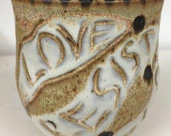 Sunflower Mug...love and resist...