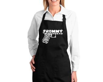 Full Length Dual Pocket Apron - Created Using The Words From Out of My Cold Dead Hands Gun