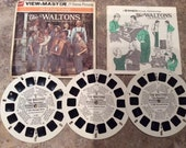 View-Master Reels The Waltons Original Sleeve GAF With Booklet Showtime Series B596