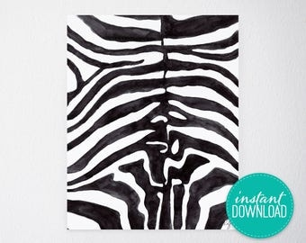 Lux Stripes Printable