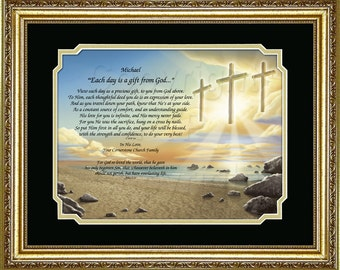 RELIGIOUS- Each Day is a Gift from God Personalized Keepsake