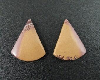 Beautiful sonoran jasper  earrings pair,  Natural stone, Jewelry making supplies S7472