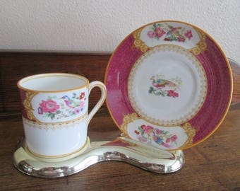 Ye Old English Demitasse Cup and Saucer Made in England
