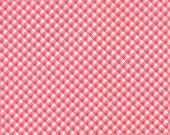 SALE Fleurs Gingham in Cherry Blossom by Brenda Riddle for Moda - One yard - 18635 16