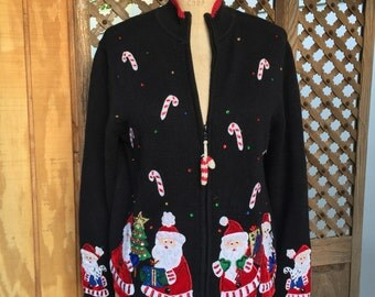 Tiara International Christmas sweater