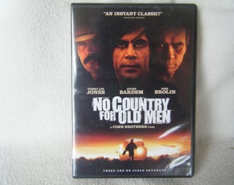 DVD Movie No Country For Old Men - Used