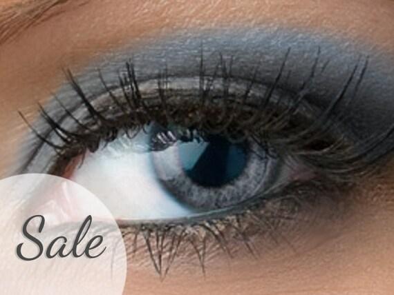 25% OFF Matte Blue Grey Eyeshadow Dusk Medium by Etherealle