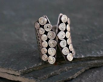 Krishna Silver Ring Hill Tribe Ring Bohemian Jewelry