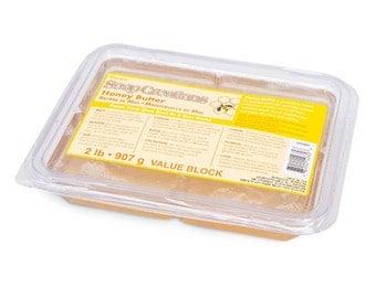 Soap Creations Melt and Pour Glycerin Soap Base - Honey Butter - 2 lb Block