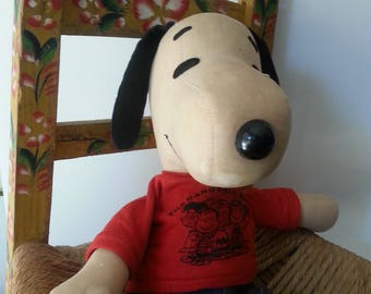 Vintage SNOOPY Doll/1960s/Autograph Hound/Peanuts Gang