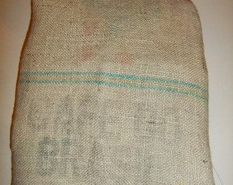 Vintage Cafe do Brasil - Jute bag - Coffee beans - Home decor - Rural