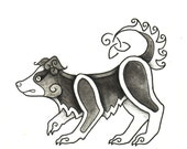 Celtic Critter - Border Collie - Original