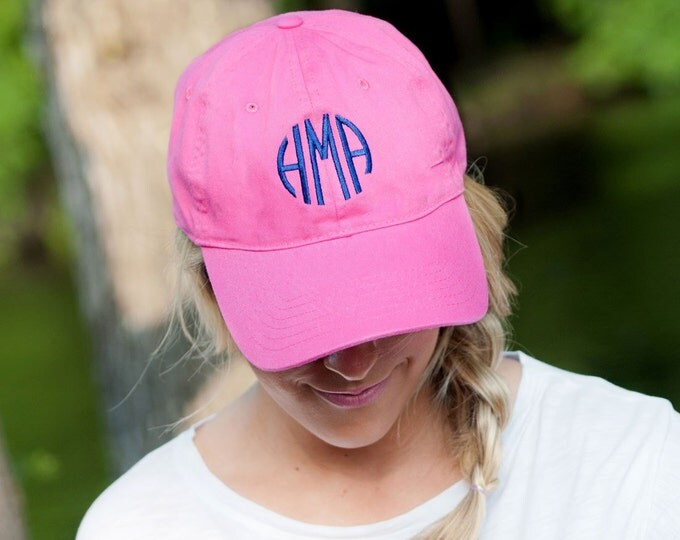 Monogrammed Baseball Caps, Monogrammed hats, Monogrammed Gifts Bridesmaid gifts
