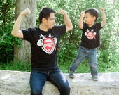 Super Dad and Super Kid - Daddy and Me set
