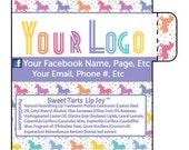 Unicorns, Personalized, LuLaRoe Customer Gifts, Lip Balm, Chapstick, LuLaroe Custom, Consultants Gifts, LuLaRoe Thank You Gifts,Party Favors