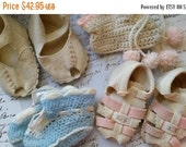 ON SALE Precious Vintage 1950's Baby Sandals and Booties Lot | Cindy's Baby Shoes