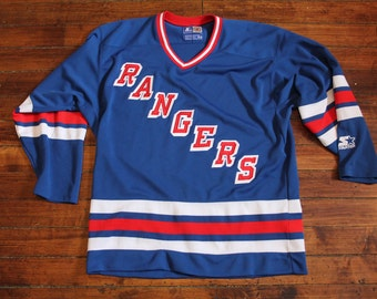 New York Rangers jersey vtg NHL hockey vintage starter jersey medium
