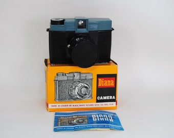 Vintage Diana Camera with Original Box and Instructions