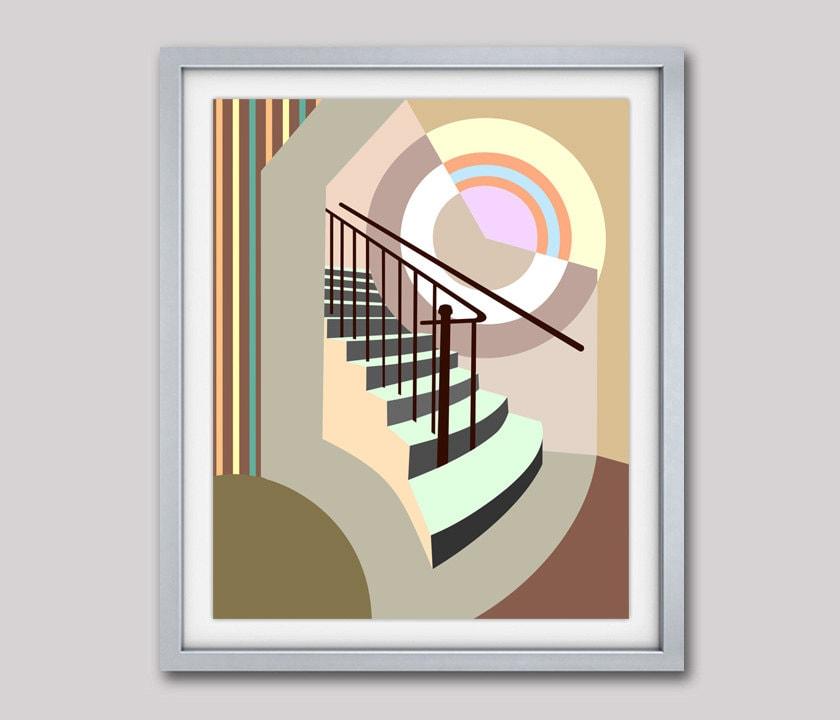 Studio Decor Wall Hanging Template : Stairway wall decor to heaven art
