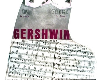 Larry Rivers-Gershwin Brothers-1995 Poster