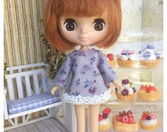 "Petite Blythe / Little Dal Outfit : ""Lavender  Dress"" (Dress)"