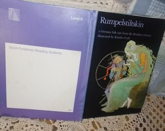 Rumpelstiltskin a German Folk Tale From the Brothers Grimm, Scott Foreman Reading System,Easy Reading Book,Learning Reading :)s